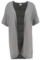 Saint Tropez Cardigan Grey Iron Melange Mottled Grey