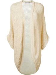 Mes Demoiselles 'Robby' Knitted Cardigan Nude And Neutrals