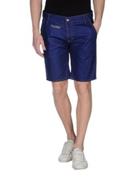 Maison Clochard Denim Bermudas