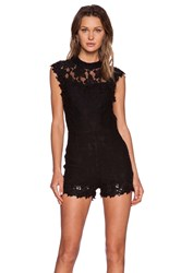 Wyldr High Roller Romper Black