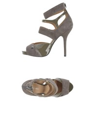 Armani Jeans Footwear Sandals Women Grey