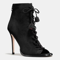 Coach Lena Heel Black