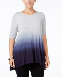 Styleandco. Style Co. Plus Size Ombre Tunic Only At Macy's Ink