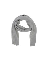 Woolrich Oblong Scarves Light Grey