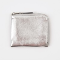 Comme Des Garcons Wallet Classic Leather S Sa3100g Silver