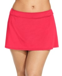 Anne Cole Plus Size Swim Skirt Women's Swimsuit Watermelon