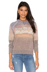 Mother The Square Sweatshirt Gray