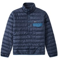 Patagonia Down Snap T Pullover Blue