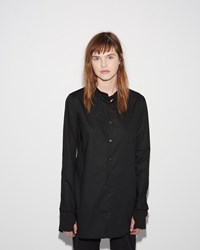 Y 3 Button Shirt Black