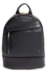 Want Les Essentiels 'Mini Piper' Leather Backpack Black Jet Black