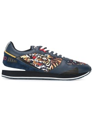 Kenzo 'Flying Tiger' Sneakers Blue