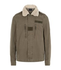 Allsaints Rai Jacket Male Green