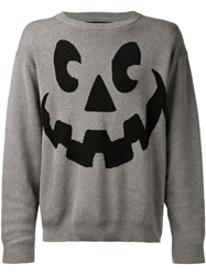 Jeremy Scott 'Halloween' Sweater Grey