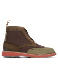 Swims Brogue Boots Brown