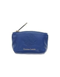 Christian Lacroix Coin Purses Dark Blue