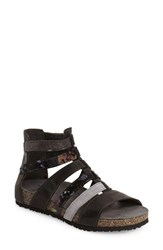 Women's Think 'Dufde' Gladiator Sandal Black Leather