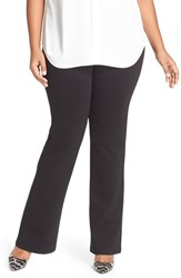 Nydj Plus Size Women's 'Belinda' Pull On Stretch Knit Bootcut Pants