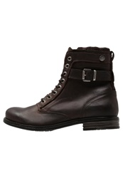 Sneaky Steve Shed Laceup Boots Brown