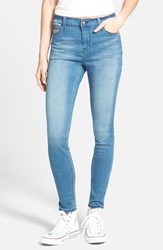 Junior Women's Lee Cooper 'Janie' Skinny Jeans Midsummer Night Blue