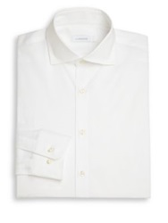 J. Lindeberg Corkz Dress Shirt Light Blue White