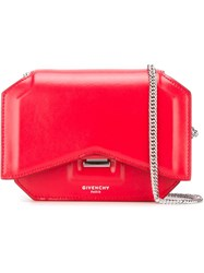 Givenchy 'Bow Cut' Crossbody Bag Red