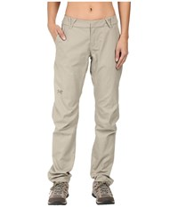 Arc'teryx A2b Chino Pants Light Carbide Women's Casual Pants Gray