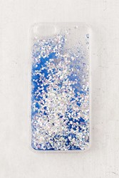 Urban Outfitters Uo Custom Moon Glitter Iphone 6 6S Case Blue