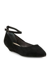 Seychelles Drove Ankle Strap Wedges Black