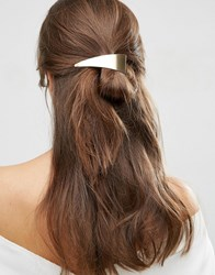 Asos Abstract Hair Clip Gold