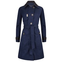 Piogg All Weather Fashion Coats Navy Waterproof Trenchcoat Red Blue Nude