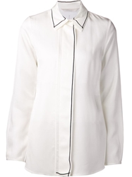Reed Krakoff Outlined Shirt White