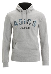 Asics Hoodie Heather Grey
