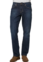 Mustang Big Sur Straight Leg Jeans Old Brushed Dark Blue