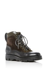 Santoni Hiking Boot Black