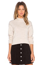 Ag Adriano Goldschmied X Alexa Chung Scotland Sweater Tan