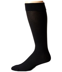 Wolford Long Distance Knee Highs Black Black Men's Knee High Socks Shoes