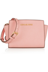 Michael Michael Kors Selma Mini Textured Leather Shoulder Bag