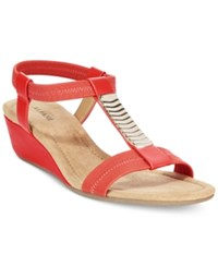 Alfani Women's Vacay Wedge Sandals Only At Macy's Women's Shoes Watermelon