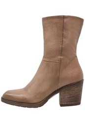 Mjus Boots Ecru Taupe