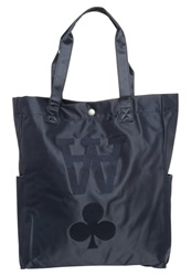 Wood Wood Tote Bag Navy Dark Blue