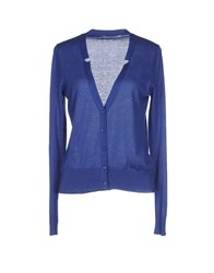Alpha Massimo Rebecchi Knitwear Cardigans Women Blue