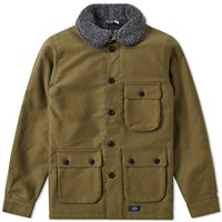 Bleu De Paname 3 4 Double Counter Jacket Green