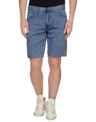 Maison Clochard Denim Bermudas Brown