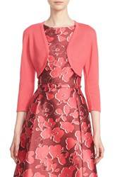 Oscar De La Renta Women's Cashmere And Silk Bolero