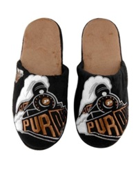 Forever Collectibles Purdue Boilermakers Big Logo Slippers Team Color