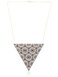 Lotocoho Alhambra Triangle Shaped Necklace Iii