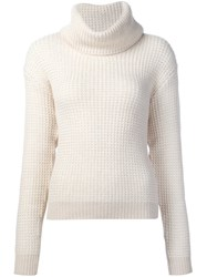 Maiyet Chunky Knit Turtleneck Sweater White