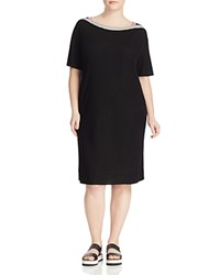 Marina Rinaldi Oracolo Jersey Dress Black