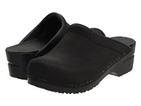 Sanita Sonja Oil Black Oil Women's Clog Shoes