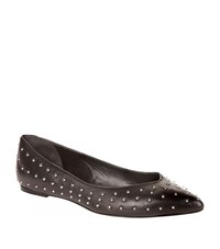 Maje Flavie Studded Ballet Flats Female Black